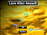 Lava Alien Assault A Free Online Game