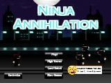 Ninja Annihilation A Free Online Game