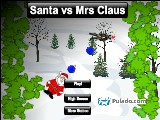 Santa vs Mrs Claus A Free Online Game