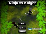 Ninja vs Knight A Free Online Game