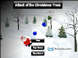 Attack of the Chrsistmas Trees A Free Online Game