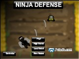 NINJA DEFENSE A Free Online Game