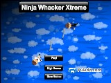 Ninja Whacker Xtreme A Free Online Game