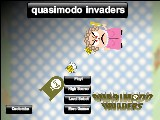 quasimodo invaders A Free Online Game