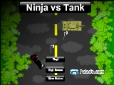 Ninja vs Tank A Free Online Game