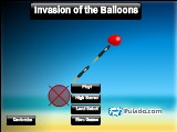 Invasion of the Balloons  A Free Online Game