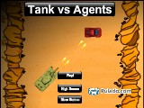 Tank vs Agents A Free Online Game