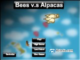Bees v.s Alpacas A Free Online Game