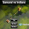 Samurai vs Indians A Free Action Game