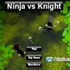 You are an imagination in a childs mind, as a ninja, Defeat the evil warrior knight before you are killed by them first!